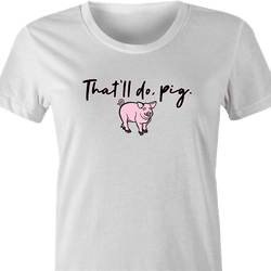 funny Haters Drink Thatll-Do-Pig Parody white men's t-shirt