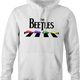 funny The Beatles an beetle volkswagon parody parody t-shirt white men's hoodie