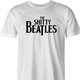 funny Wayne's world shitty beatles t-shirt white men's