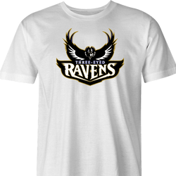 Three Eyed Ravens white t-shirt