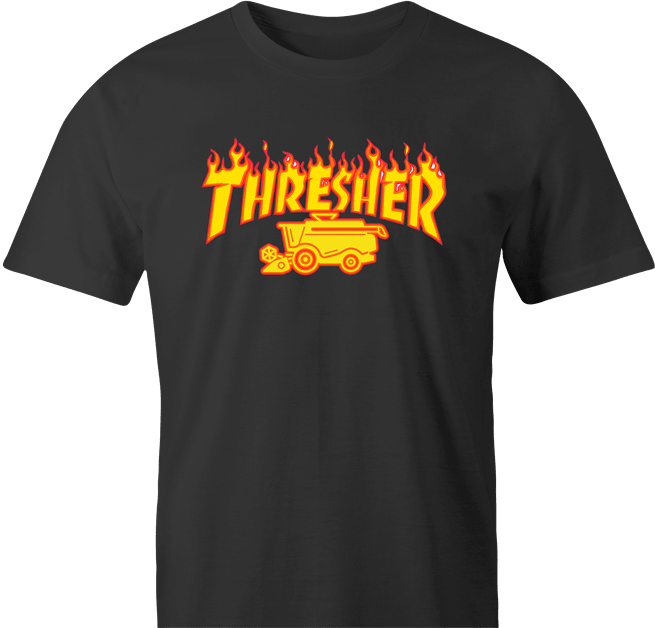funny Farming Thresher Parody men's T-Shirt