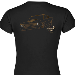 The Offical Rad Rides by Troy | Ford Gran Torino Front View | Men's T-Shirt | Cool Cars