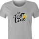 funny Tour De France Lance Arsmstrong Cheating t-shirt women's Ash Grey