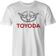 Funny yoda star wars toyota parody men's t-shirt