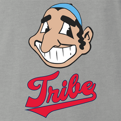 funny Jewish Tribe Cleveland Indians Parody white men's t-shirt