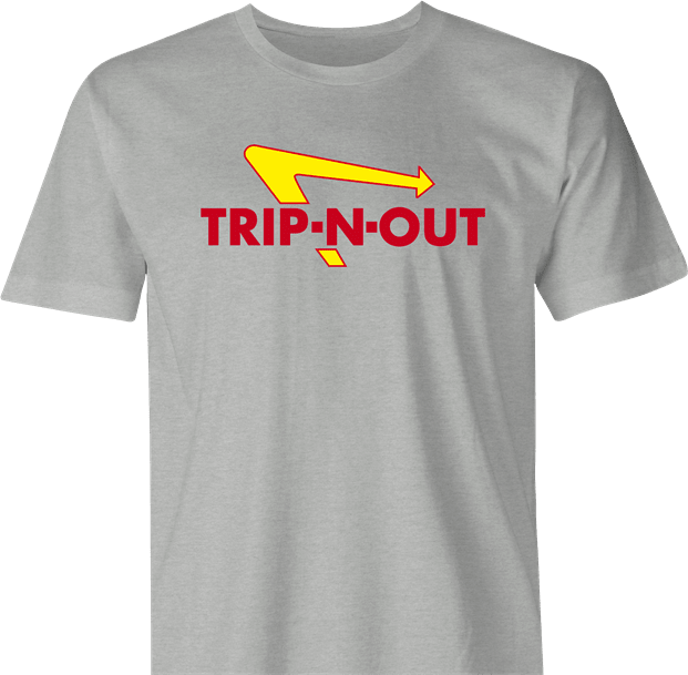 Funny Tripping Out Getting High Parody Parody Men's T-Shirt