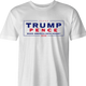 trump pence 2020 men's t-shirt white