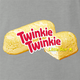 funny Twinkie Twinkie Little Start Parody Ash Grey t-shirt