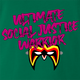 Funny Ultimate Social Justice Warrior - Social Justice Ultimate Warrior WWF Parody Kelly Green T-Shirt