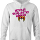 Funny Ultimate Social Justice Warrior - Social Justice Ultimate Warrior WWF Parody White Hoodie