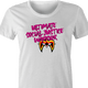 Funny Ultimate Social Justice Warrior - Social Justice Ultimate Warrior WWF Parody White Women's T-Shirt