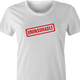 funny Uninsurable - Insurance Parody t-shirt white women's