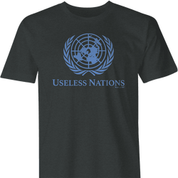 useless united nations men's t-shirt