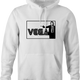 cool vincent vega pulp fiction sega parody white hoodie