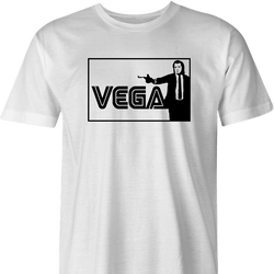 vincent vega sega pulp fiction white t-shirt