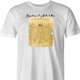 Funny perfect man leonardo da vinci well endowed white men's t-shirt