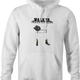 Walker texas Ranger is very old parody Chuck Norris hoodie white