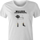 Walker texas Ranger is very old parody Chuck Norris t-shirt white women's