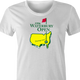 funny waterbury open happy gilmore golf white women's t-shirt