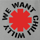 Funny we want chilly will the simpsons rhcp ash t-shirt
