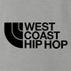 cool West Coast Hip Hop northface hip hop parody t-shirt grey
