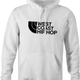 cool West Coast Hip Hop northface hip hop parody t-shirt white men's hoodie