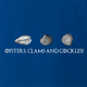 funny oysters, cockles and clams game of thrones royal blue t-shirt