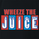 Funny Encino Man Pauly Shore Wheeze The Juice Black T-Shirt