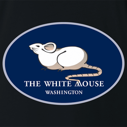 funny The White House Mouse men's t-shirt