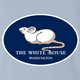 funny The White House Mouse light blue t-shirt