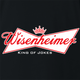 funny Budweiser and Budweiser Light Beer Parody - Jokers parody men's t-shirt black