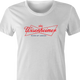 funny Budweiser and Budweiser Light Beer Parody - Jokers parody women's t-shirt white