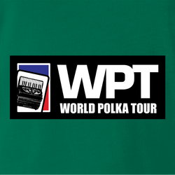 funny polka poker t-shirt - world polka tour men's t-shirt
