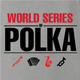 funny polka poker t-shirt - worl series of polka ash grey t-shirt
