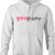 Funny you perv YouPorn Website Parody hoodie white