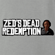 Funny Red Dead Redemption Zed from Pulp Fiction  parody t-shirt grey