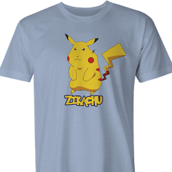 pikachu zika zikachu pokemon men's t-shirt