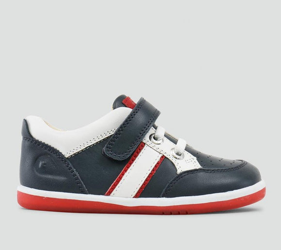 Bobux Iwalk racer sport Navy/White/Red