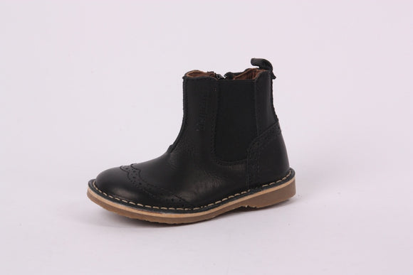 Bisgaard Black chelsea boot