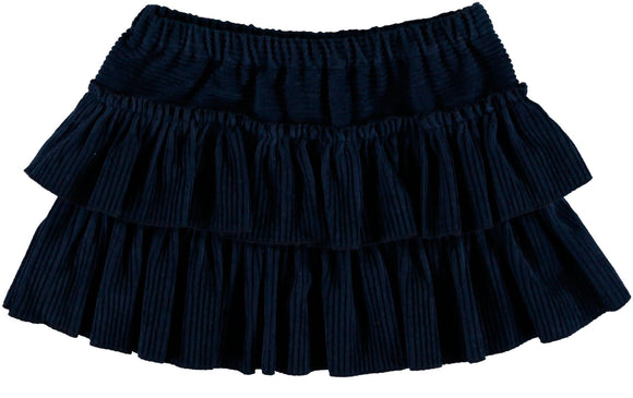 Mar Mar Blue Sine Ruffle skirt