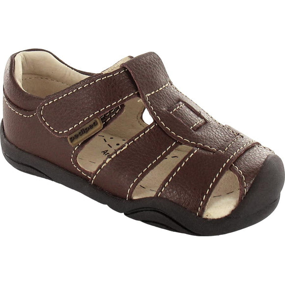 Pediped Grip n Go Sydney  Brown Sandal