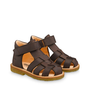 Angulus  Brown T-Bar sandal