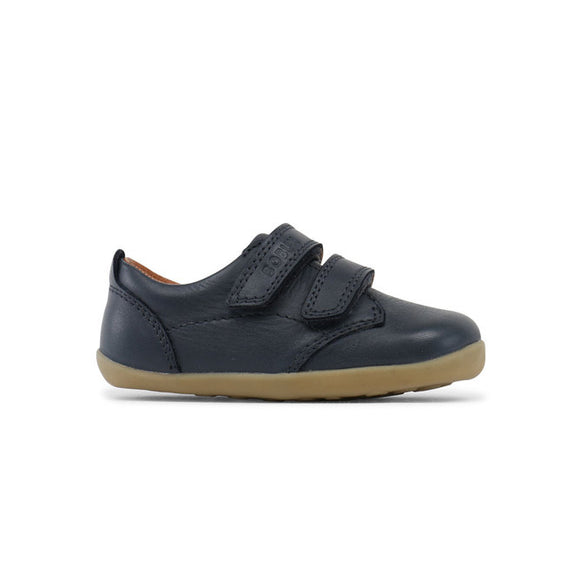 Bobux Step up Swap dress shoe Navy