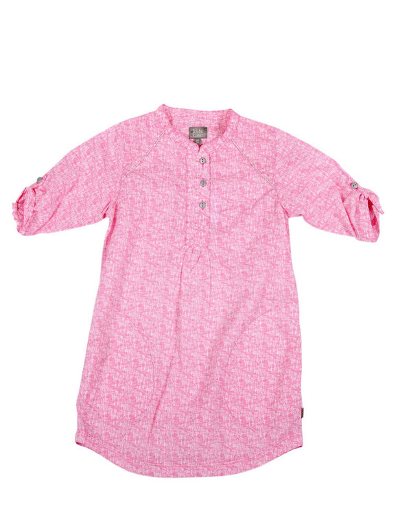 Kidscase Steve Dress Pink Print