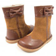 Livie and Luca Whitney Cognac boot