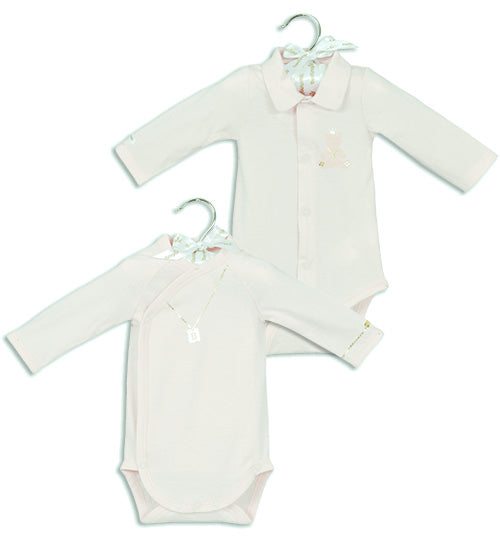 Berlingot Pink long sleeve bodysuit set