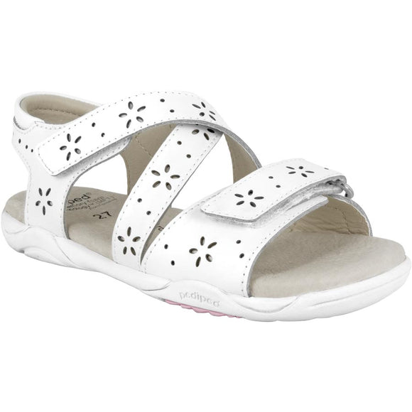 Pediped Flex Mae White Sandal