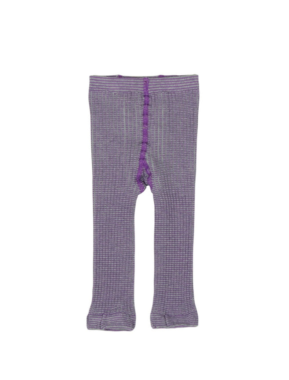 Kidscase Leggings Purple/ Grey