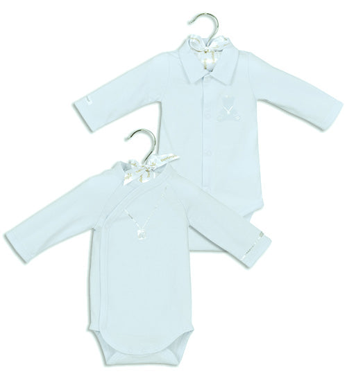 Berlingot White long sleeve bodysuit set