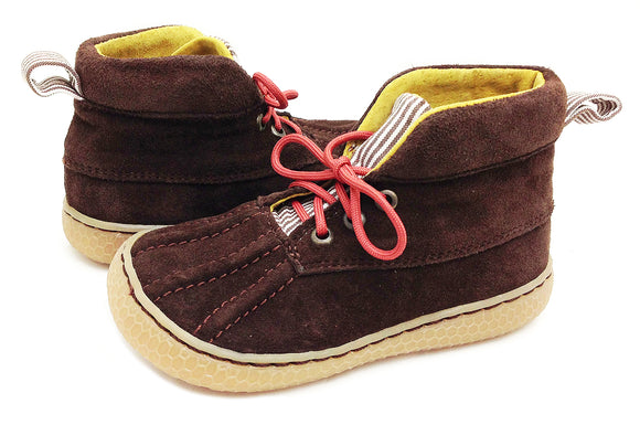 Livie & Luca Gordon Brown Suede